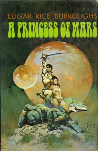 A Princess Of Mars Edgar Rice Burroughs Battered Tattered