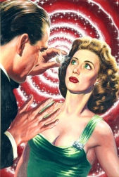 """""""How to Hypnotize"""" - Virgil Finlay - Fate, July 1954"""