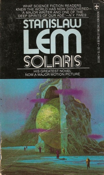 Solaris Stanisaw Lem Battered Tattered Yellowed Creased