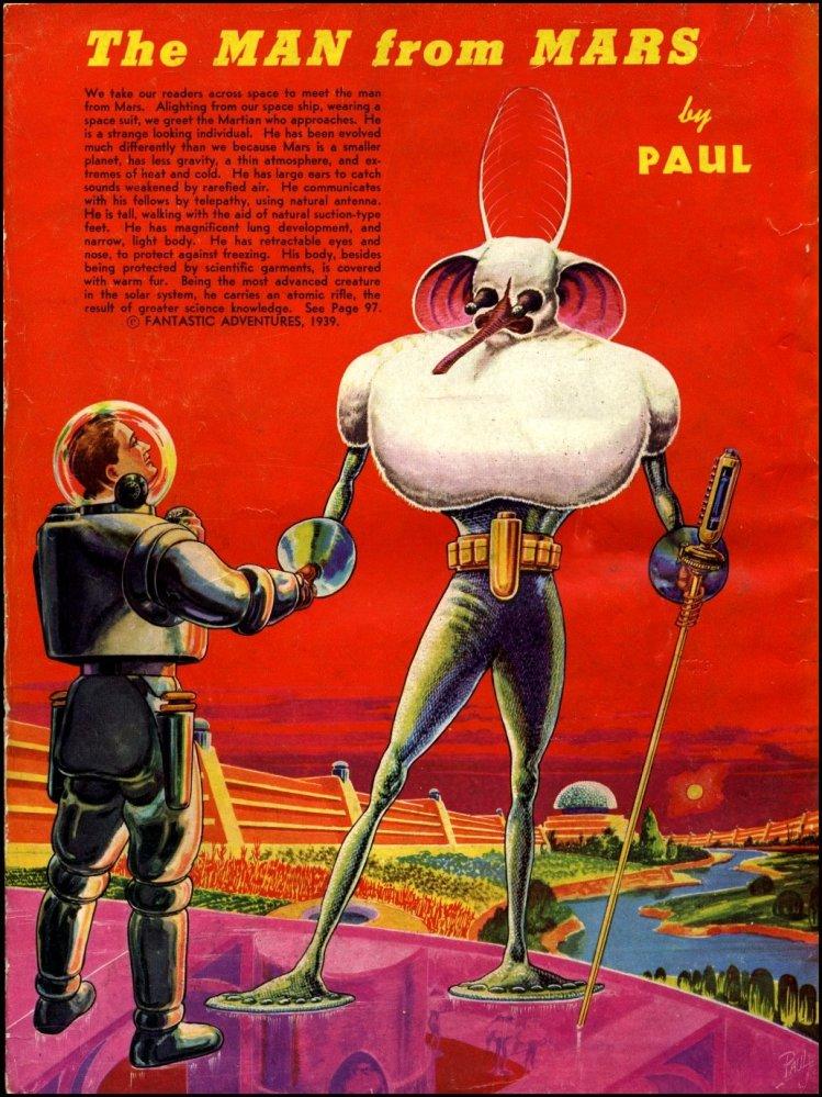 Adventures in Art - Frank R. Paul (2) Alien Visions (3/6)