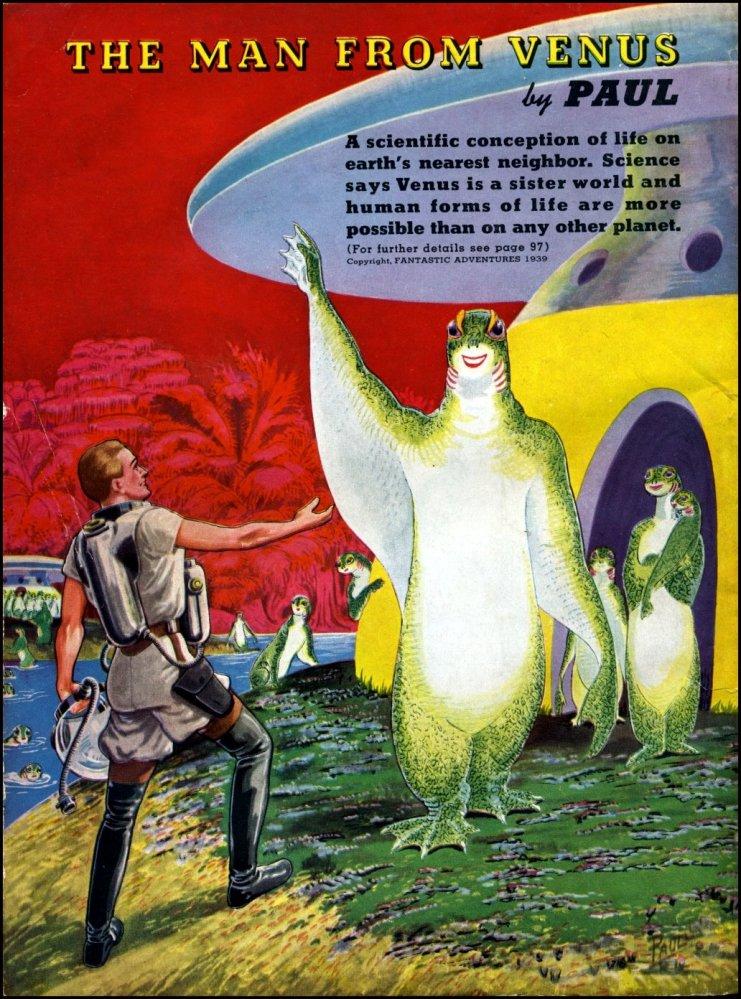 Adventures in Art - Frank R. Paul (2) Alien Visions (2/6)
