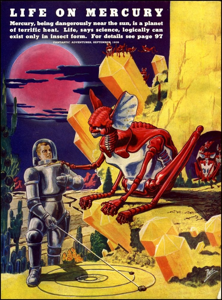 Adventures in Art - Frank R. Paul (2) Alien Visions (1/6)