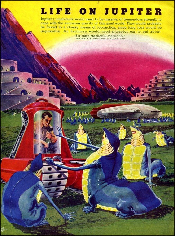 Adventures in Art - Frank R. Paul (2) Alien Visions (4/6)