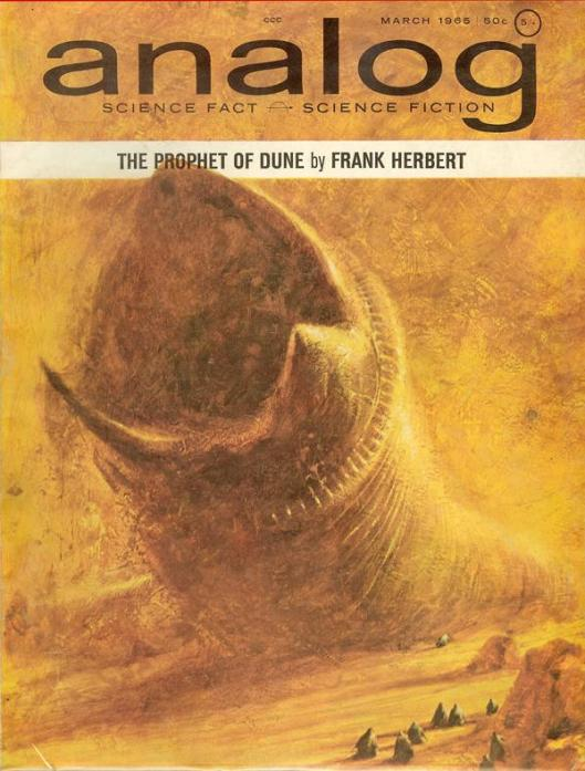 "Analog - Mar, 1965 - John Schoenherr, ""The Prophet of Dune."""