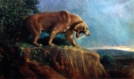 Smilodon populator from the American Museum of Natural History, 1905.