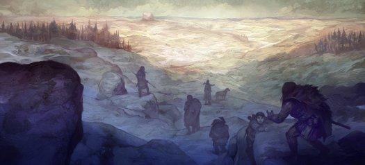 "Jon Hodgson, ""Descending the Misty Mountains"""