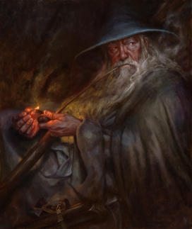 "Matt Stewart, ""Gandalf - a light in the dark"""