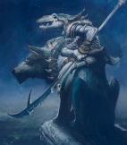 """Justin Gerard, """"Warg and Goblin Rider"""""""