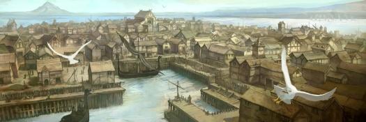 "Jon Hodgson, ""Lake-Town"""