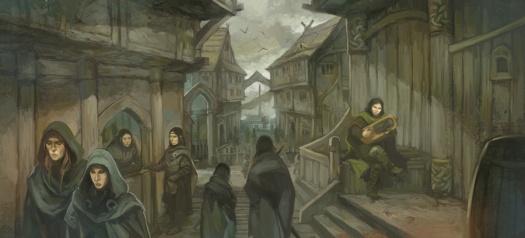 "Jon Hodgson, ""Streets of Lake-Town"""