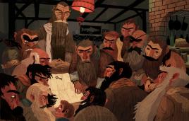 Sam Bosma, Hobbit 1