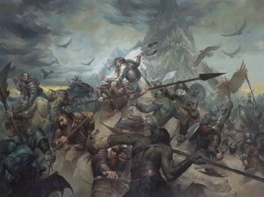 """Lucas Graciano, """"The Last Stand of Thorin Oakenshield"""""""