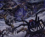 """Ted Nasmith, """"The Spiders of Mirkwood, by Ted Nasmith"""""""